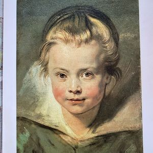 Kinderkopf Print by John Paul Rubens